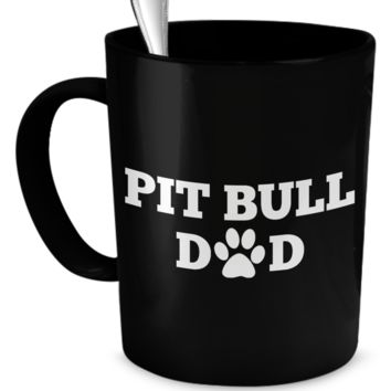 Pit Bull Dad (black)