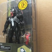 Spider Man Action Figure Venom Spride Collection Model Toys Doll Marvel Action Figures 18cm Spiderman Action Figures in box