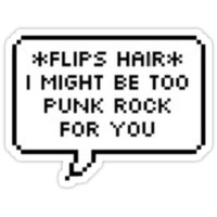 too punk rock 4 u