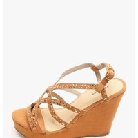 Tan Blank | $10.00 | Cheap Trendy Wedges Chic Discount Fashion for Women | ModDeals.com