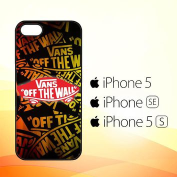 vans off the wall Z3139  iPhone 5|5S|SE Case