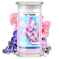 Sweet Pea Ring Candle®