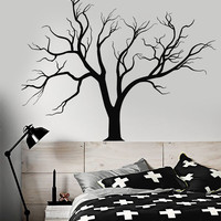 Vinyl Wall Decal Gothic Nature Tree Branches Home Design Stickers Unique Gift (858ig)