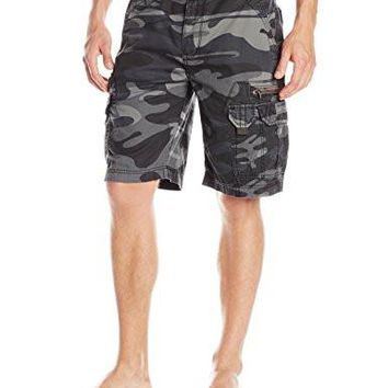 Men's Cargo Short Bailey Belted Cargo Short Button closure Machine Wash