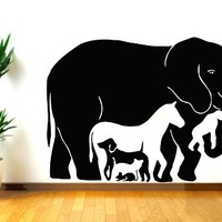 Animals Wall Decal Vinyl Sticker Decals Petshop Grooming Salon Nursery Baby Room Bedroom Home Decor Art Design Interior NS935