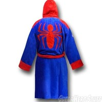 Spiderman Red and Blue Robe