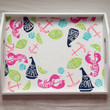 """Lilly Pulitzer """"Summer Classic"""" inspired accessory tray with monogram"""