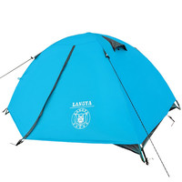 Ultra-lightest 1.8KG double layer lightes bivvy tent 2 people camping tent for hiking trekking backpacking fishing tourist naturehike