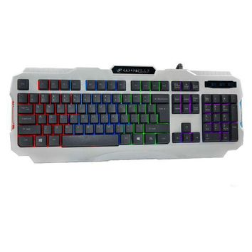ac NOOW2 2016 Wired Mini Keyboard K2 USB Wired Illuminated Colorful LED Backlight Multimedia PC Gaming Keyboard