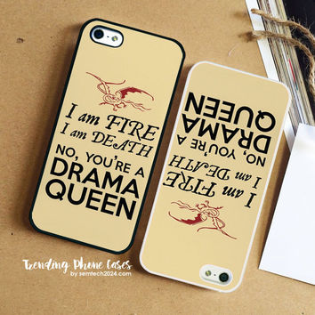 The Hobbit Drama Queen Smaug  iPhone Case Cover for iPhone 6 6 Plus 5s 5 5c 4s 4 Case
