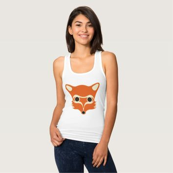 Fox illustration shirt