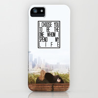 Greys Anatomy: I choose you... iPhone & iPod Case by drmedusagrey