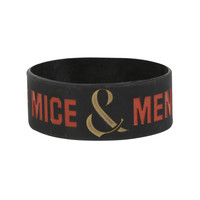 Of Mice & Men Wreath Rubber Bracelet | Hot Topic