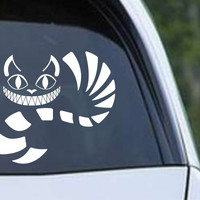 Alice In Wonderland - Cheshire Cat Die Cut Vinyl Decal Sticker