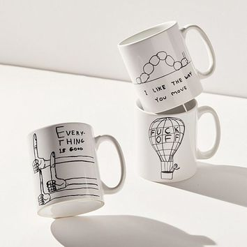 David Shrigley Balloon Mug | Urban Outfitters