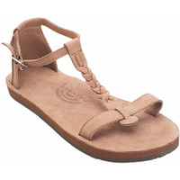 Calafia Single Layer with Back Buckle Heel in Dark Brown by Rainbow Sandals