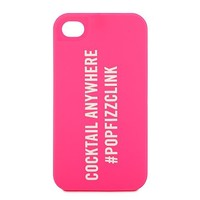 kate spade | pop fizz clink silicone iphone 4 case