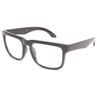 Blue Crown Hex Keyhole Sunglasses Black One Size For Men 24108510001
