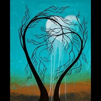 Original Tree Painting Abstract Landscape - Weeping - by Jaime Best