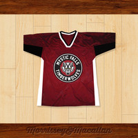 Stefan Salvatore 17 Mystic Falls Timberwolves Football Jersey by Morrissey&Macallan