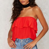 Private Practice Strapless Top