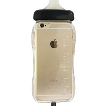 BABY BOTTLE BLACK IPHONE CASE