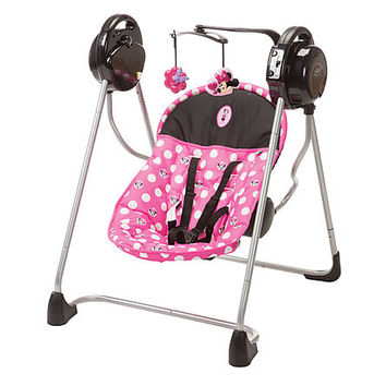 Disney Baby Sway 'n Play Swing Minnie Dot - Baby - Baby Gear - Swings & Bouncers