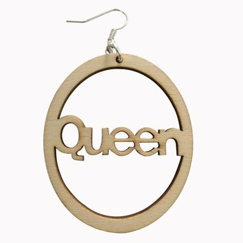 Queen Earrings (3 colors) | Natural hair earrings | Afrocentric earrings | jewelry | accessories