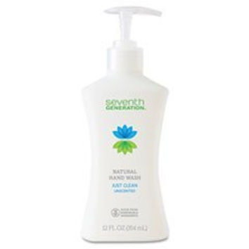 - Hand Soap, Unscented -- Free& Clear, 12oz Pump Bottle