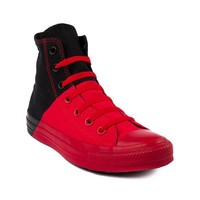 Converse All Star Splitzie Hi Athletic Shoe, Red Black | Journeys Shoes