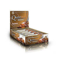 Quest Nutrition Cinnamon Roll Quest Bars, 12 Bars