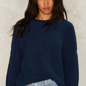J.O.A. Spektor Ribbed Sweater