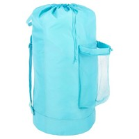 Room Essentials™ Backpack Laundry Bag - Turquoise : Target