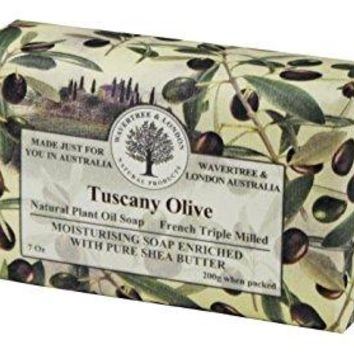 Wavertree & London Bar Soap 7oz - Tuscany Olive