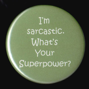 Superpower Button by kohaku16 on Etsy
