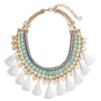 Lilly Pulitzer® Surf Seafari Bib Necklace | Nordstrom