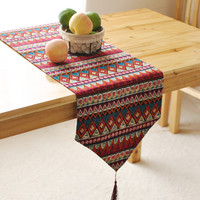 Cotton Ethical Bohemian Rustic Home Decor table runner 4 Size for choose
