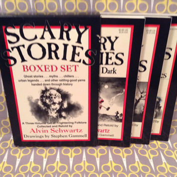 Vintage Horror Scary Stories to Tell in the Dark by VinylJunction