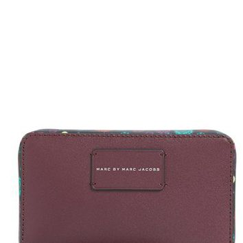 MARC BY MARC JACOBS x Disney® 'Alice in Wonderland - Ditsy Flower Wingman' Phone Wristlet | Nordstrom