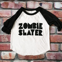 ROTTEN COLLECTION : Zombie Slayer Raglan