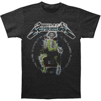 Metallica - Electric Chair Songs Tri-Blend Soft Adult T-Shirt