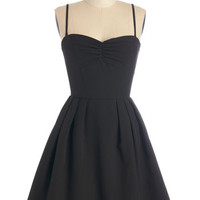 ModCloth LBD Mid-length Strapless A-line LBDream Dress