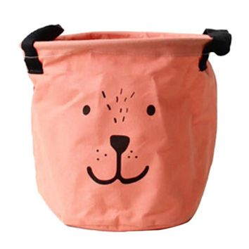 Laundry Home Kitchen Basket Bag Cartoon Print Clothes Storage Baskets Foldable Room Dirty Clothes Barrel Storage Bags