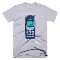 Old School Phone T-Shirt wth Snake Game
