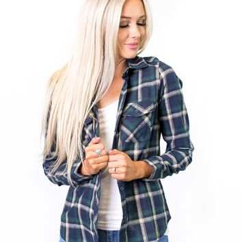 Finley Classic Plaid Flannel Top