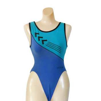 80s Workout Leotard Spandex Leotard High Cut Leotard 80s Aerobics 1980s Leotard 80s Workout Clothes 80s Workout Clothing Women Leotard