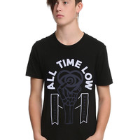 All Time Low Skeleton Hand Logo T-Shirt