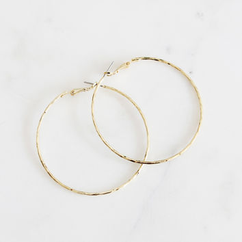 Emelie Hoop Earrings