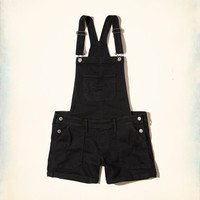 Girls Denim Short Overalls | Girls Bottoms | HollisterCo.com