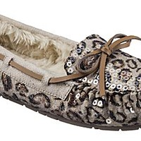 New Natural Reflections® Mocs for Ladies - Leopard Sequins